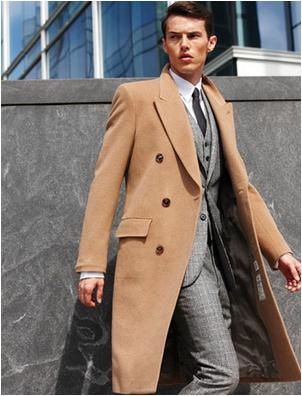 Himark Martin Tailors Mens Custom Made Overcoat Winter Coat